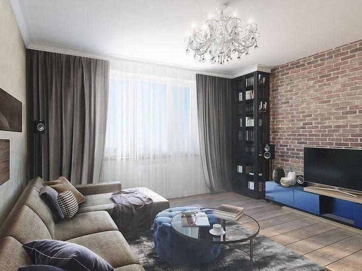 Дизайн комнаты 18 кв. м (69 фото): интерьер прямоугольной однокомнатной квартиры с балконом в «хрущевке»