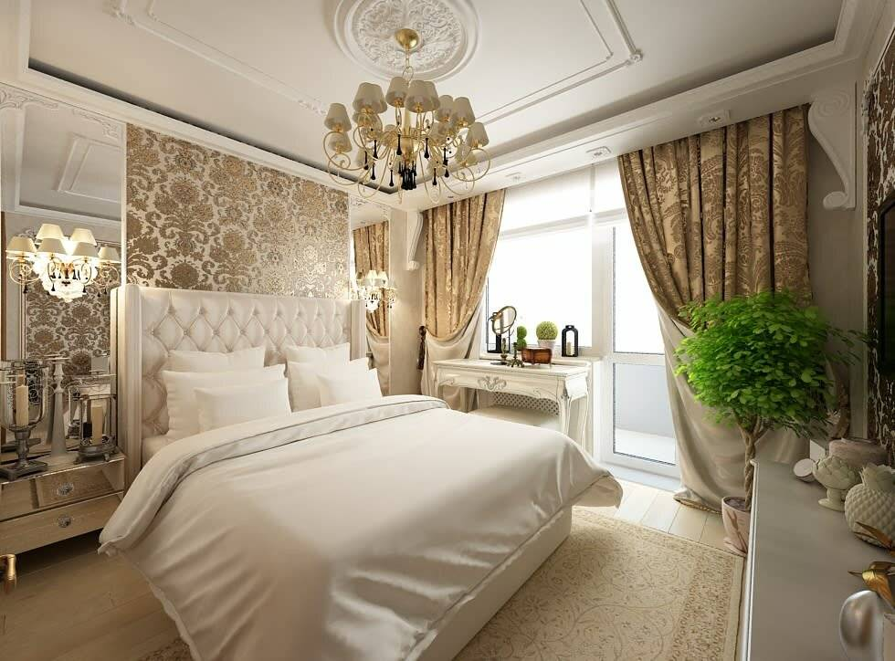 Классические спальни – обзор идей дизайна. 100 фото роскошного и сложного классического стиля