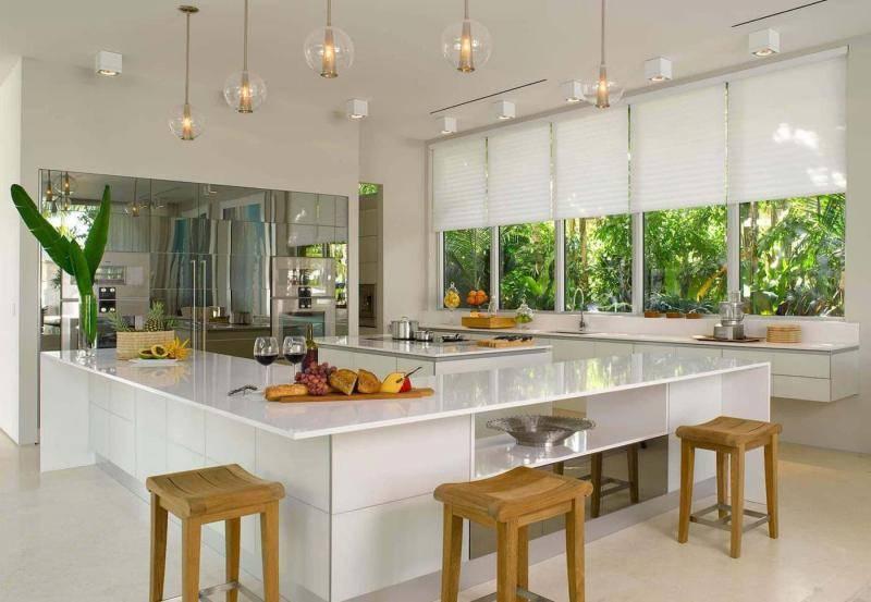 Кухонные шторы с фото в современном и других стилях дизайна, модные тенденции и нюансы выбора