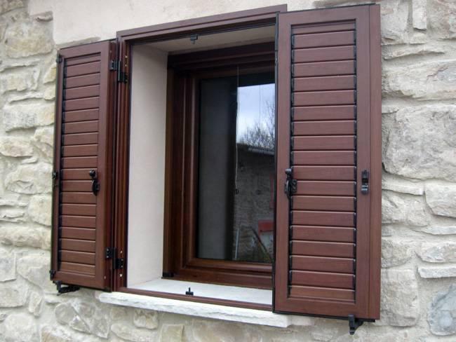 Ставни на окнах - схема изготовления своими руками