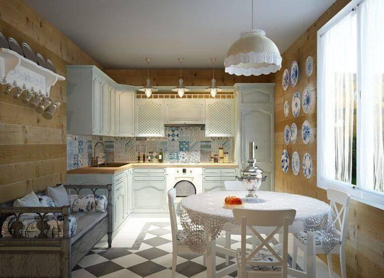 Дизайн кухни в стиле кантри особенности интерьера +75 фото