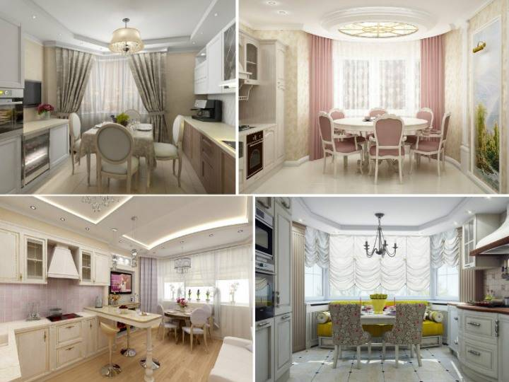 Кухня сэркером: 45 фото красивого оформления пространства