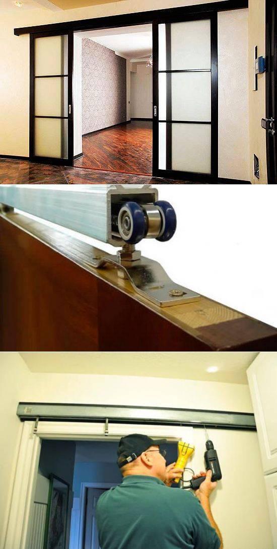 Самодельный механизм для раздвижных дверей
