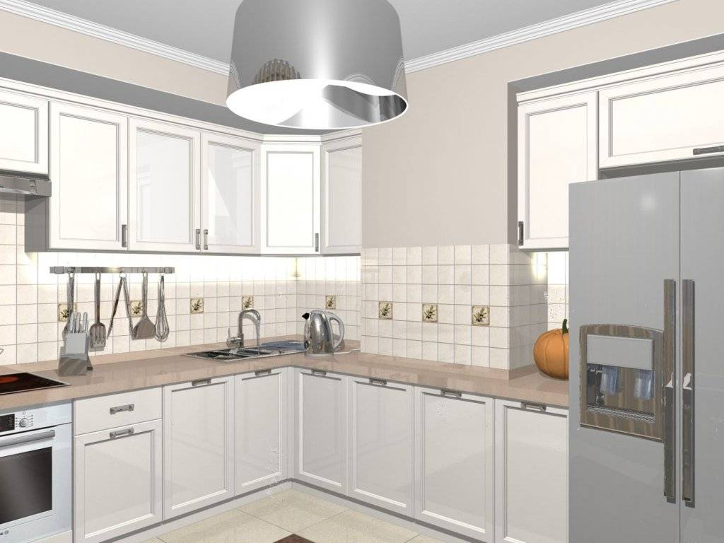 Кухни с вентиляционным коробом и выступом в углу – фото дизайн и идеи оформления