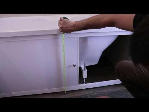 Экраны под ванну: разновидности, преимущества и недостатки экранов из разных материалов, советы по выбору экрана под ванну