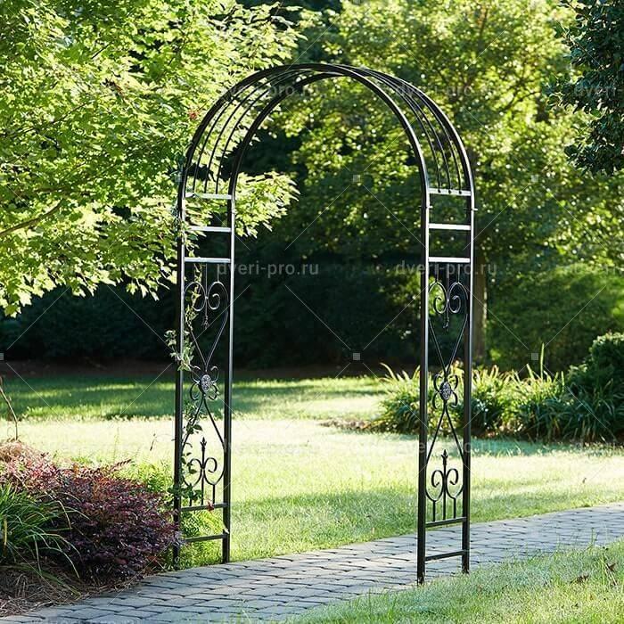Мастерим своими руками: садовая арка для вьющихся растений