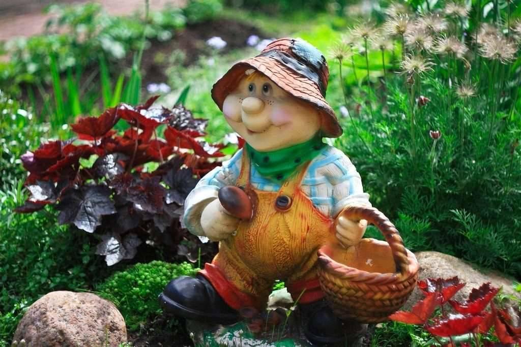 Домик для гнома. садовая скульптура. | страна мастеров