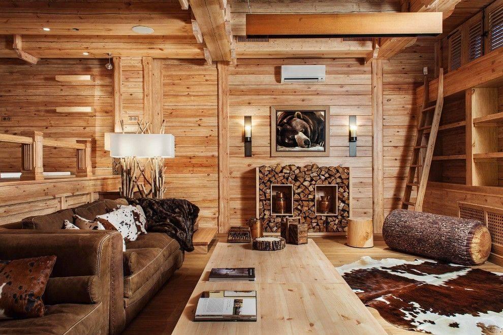 Дизайн зала вчастном доме — 60 фото-примеров удачных решений