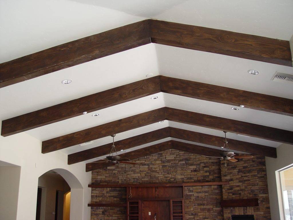 75 примеров использования декоративных балок на потолке