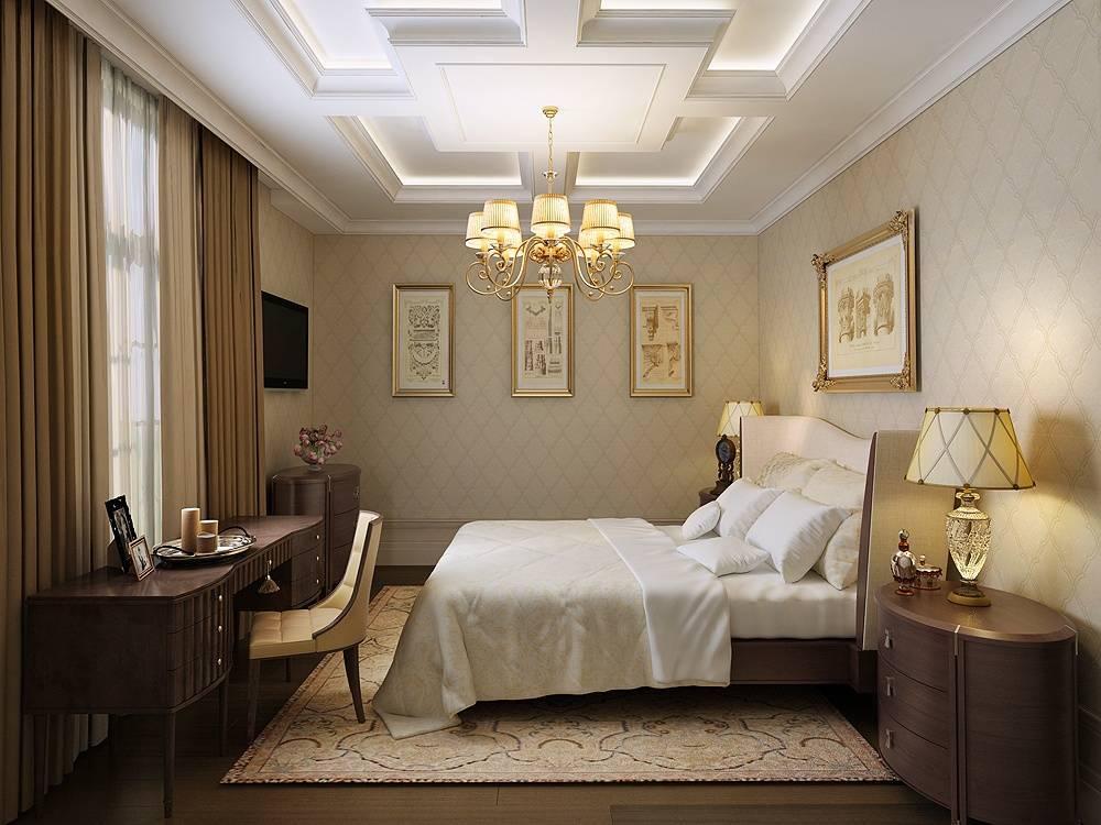 Классические спальни: 100 фото популярных проектов и недорогих решений по цвету и мебели