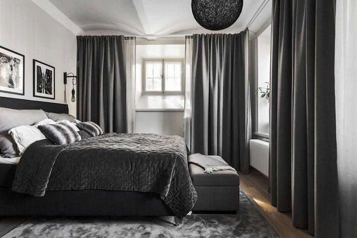 Темная спальня: особенности дизайна и фото в интерьере