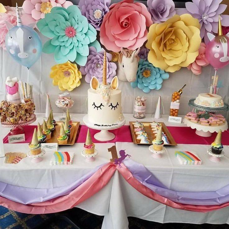 Как украсить стол на день рождения? детские столы на день рождения (фото) :: syl.ru
