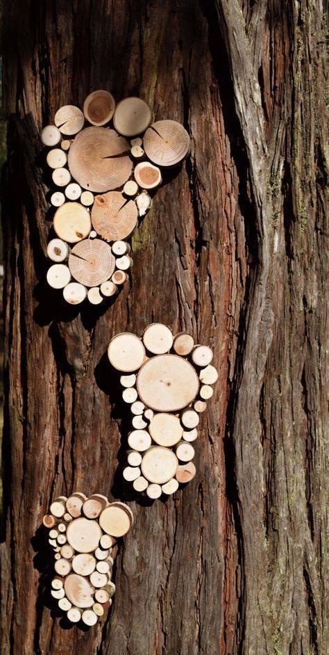 Идеи из спилов дерева своими руками