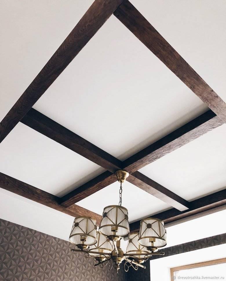 Декоративные балки в интерьере - подбор и монтаж