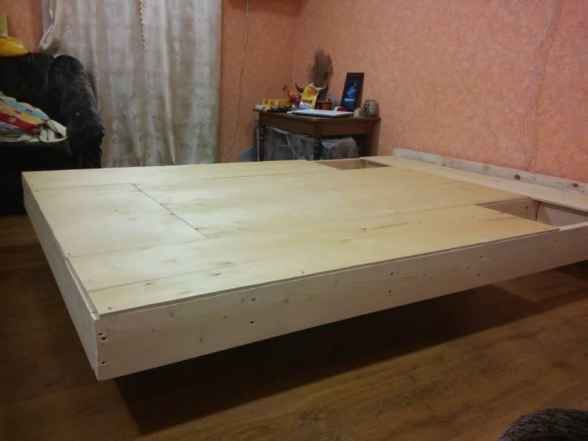 Каркас кровати своими руками: какое дерево выбрать, где взять чертеж, как сделать ламели и основание двуспальной кровати 160 на 200