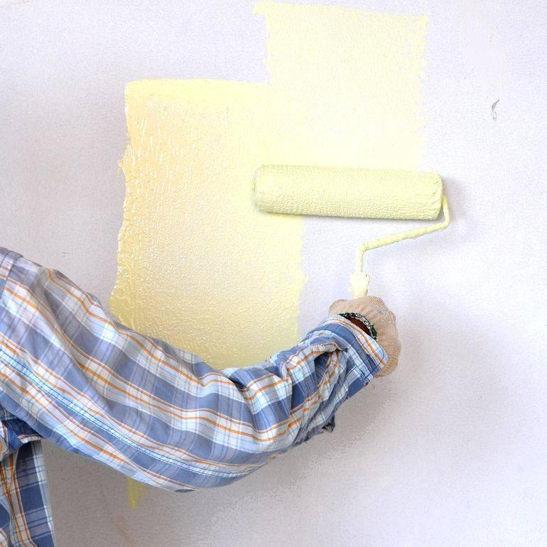 Покраска обоев: 105 фото подробного описания процесса и правила нанесения краски