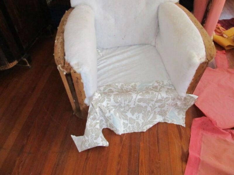 Удобное мягкое кресло своими руками