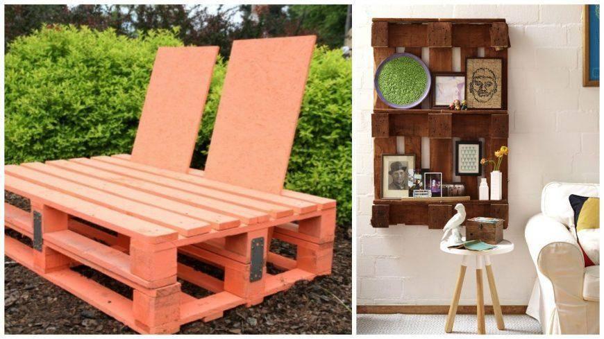 Особенности мебели из поддонов и паллетов