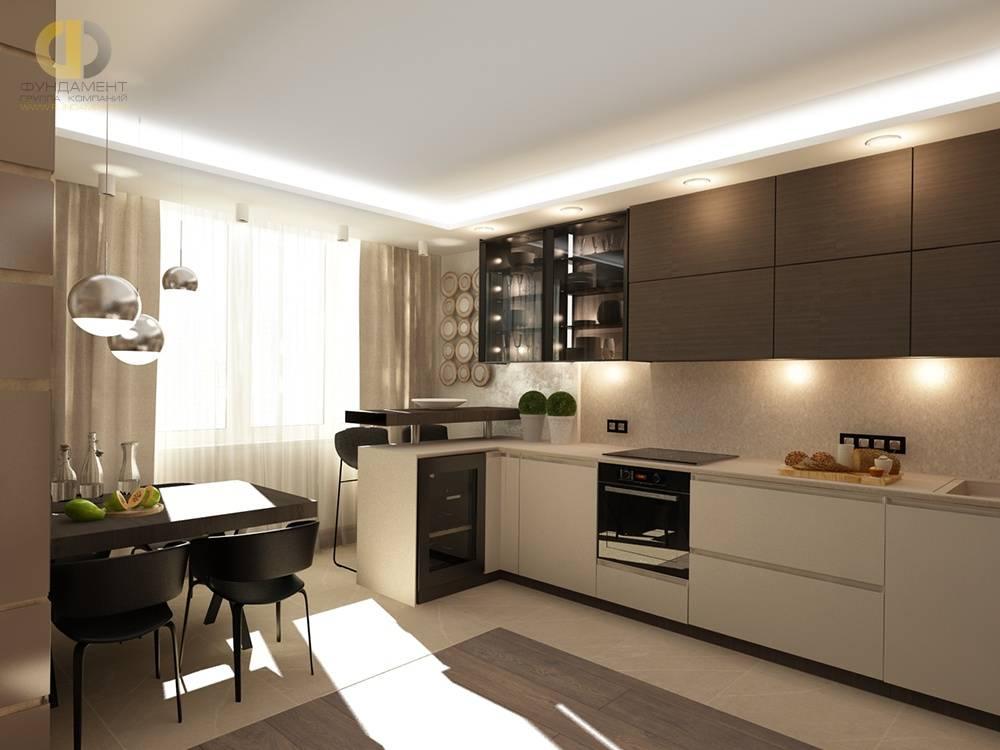 Как обустроить кухню площадью 4 кв.м.
