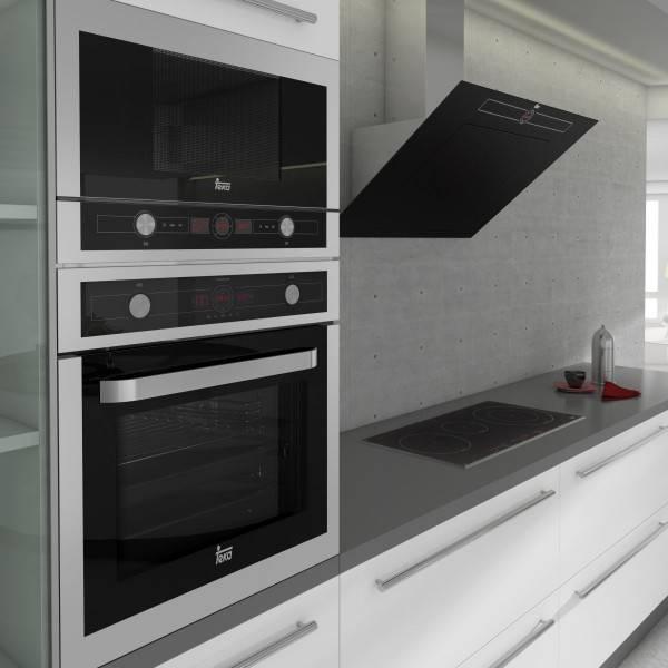 Установка духового шкафа в кухонный гарнитур (27 фото): интерьер кухни со встроенными шкафами