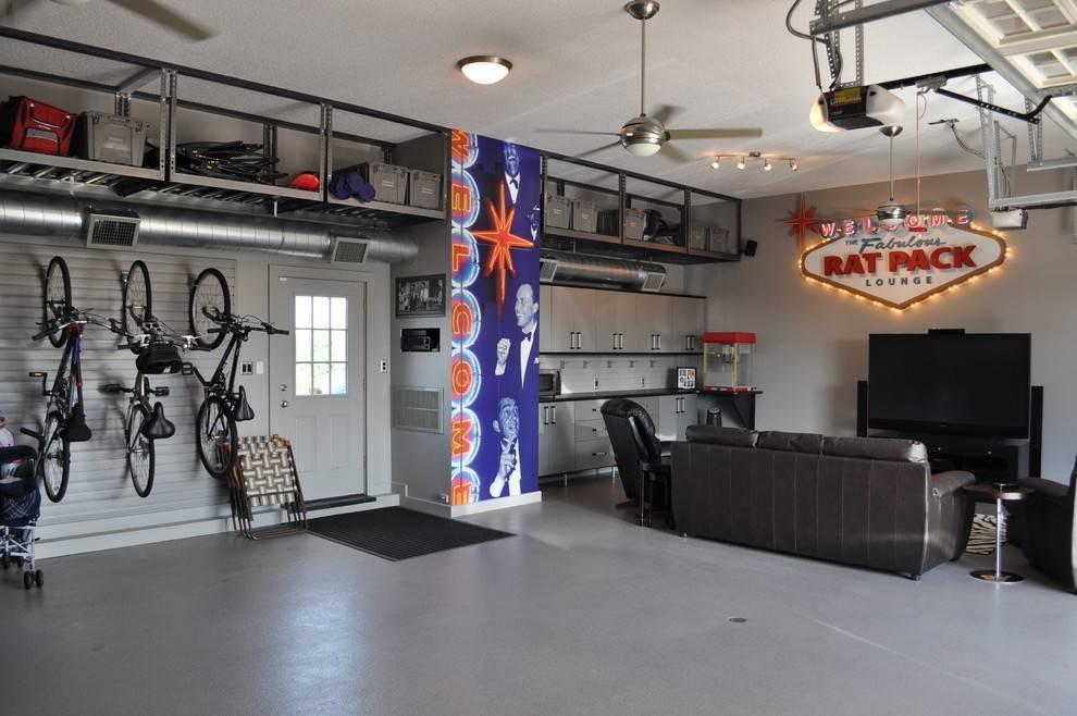 Обустройство гаража: 50 фото реализаций мужской мечты без затрат