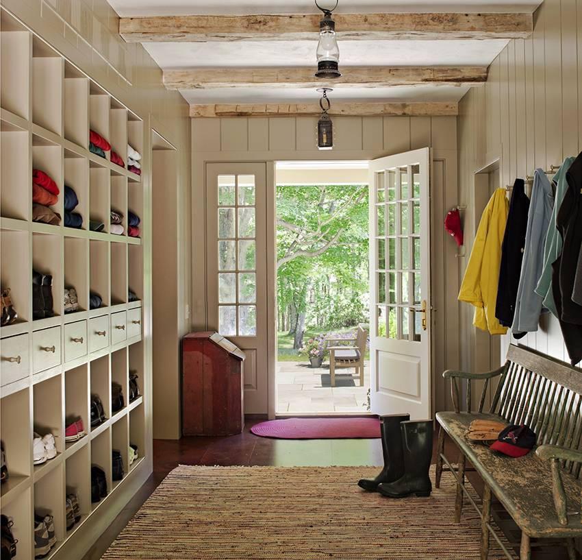Прихожая в частном доме - 47 фото с лучшим дизайном