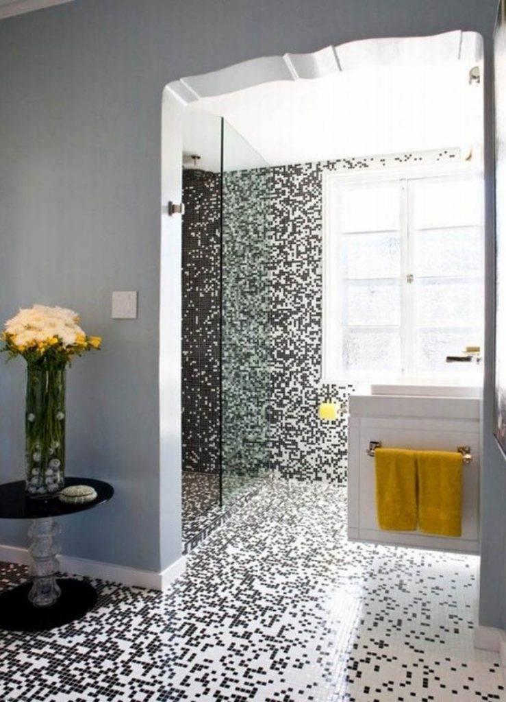 Дизайн ванной комнаты в мозаике: выбор мозаики, варианты и идеи оформления