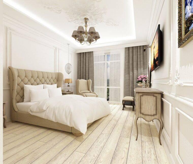 Стиль неоклассика в интерьере квартиры: фото реальных объектов