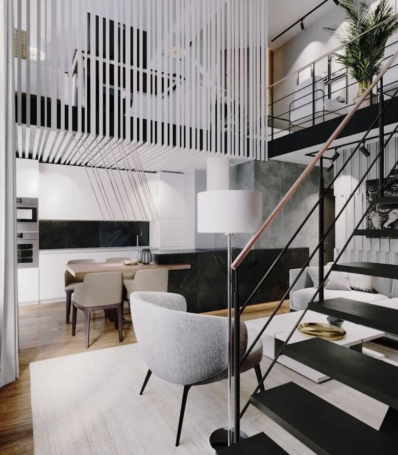 Стильный дизайн квартиры площадью 40 кв. метров