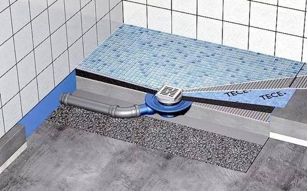 Трап для душа в полу под плитку с гидрозатвором: разновидности и нюансы монтажа