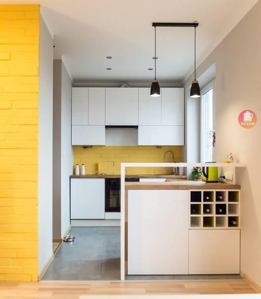 Дизайн маленькой кухни - 90 фото интерьеров после ремонта, красивые идеи