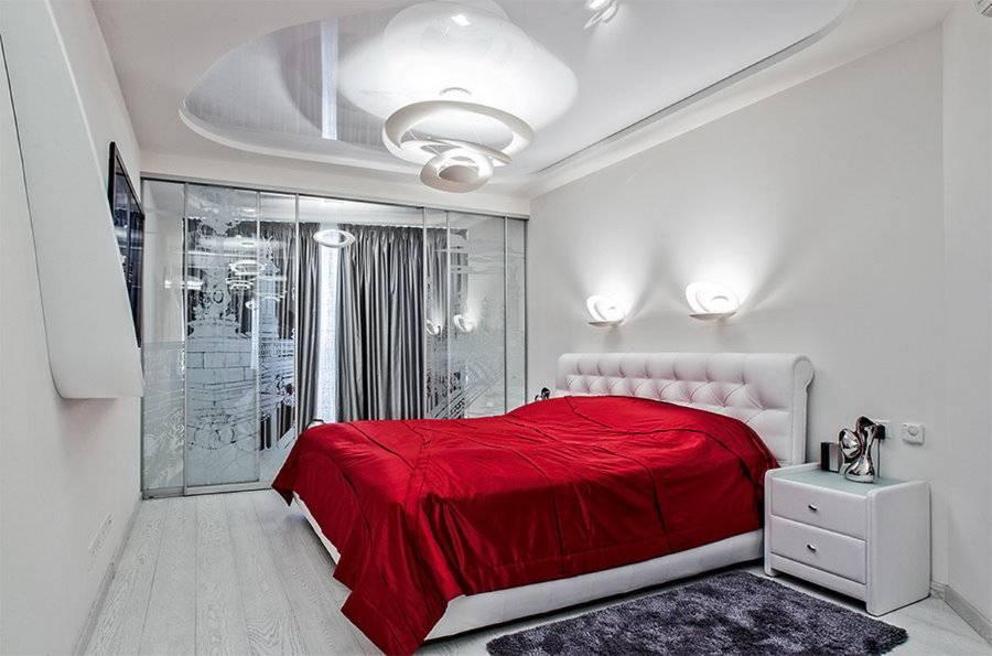 Как визуально расширить узкую спальню