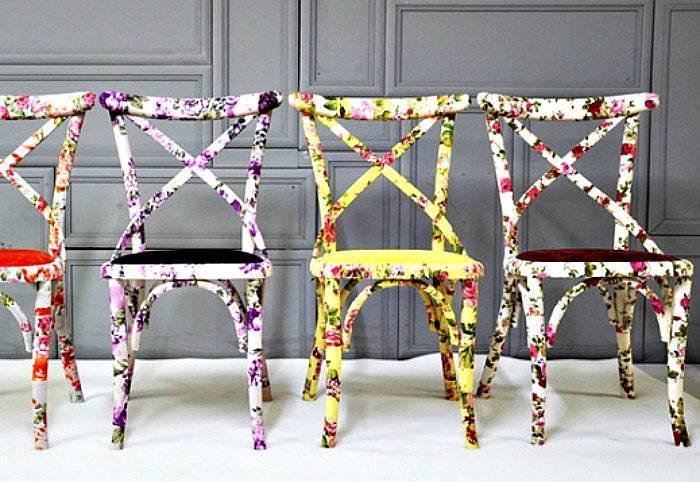 Как украсить стулья своими руками к празднику или при обновлении интерьера. декор старых стульев: несколько простых способов оформления (22 фото)