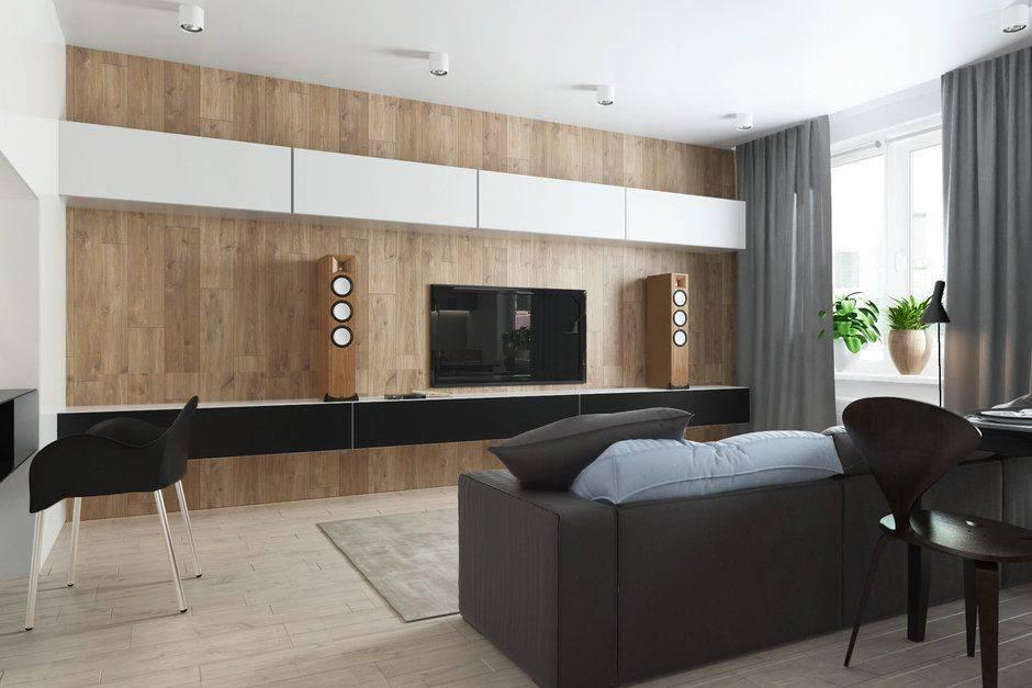 Однокомнатная квартира в стиле минимализма – пространство без границ - уютный дом