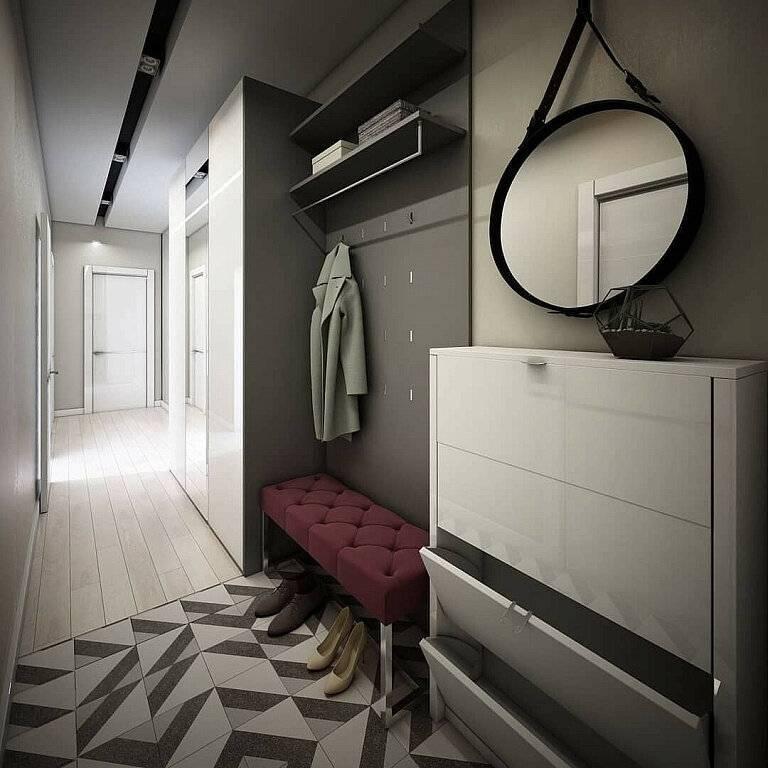 """Мебель для прихожей (64 фото): стильные идеи-2021"""" дизайна корпусных гарнитуров и моделей с креслом или кушеткой в коридор"""