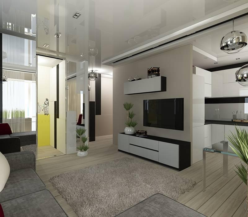 Двухкомнатная «хрущевка»: идеи для ремонта, планировка и дизайн комнат