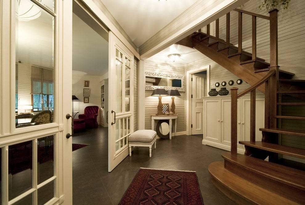Фото прихожих в частном доме с интересным дизайном