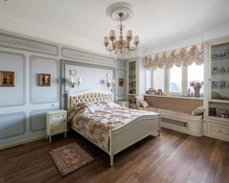 Спальня в классическом стиле: основные принципы оформления и необходимые элементы интерьера, фото