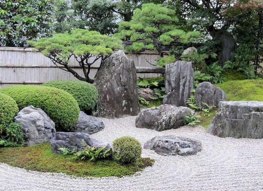 Японский сад камней своими руками на даче: схема + фото