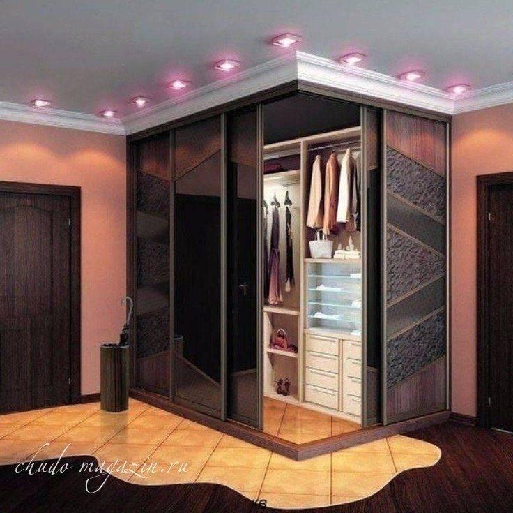 100 идей дизайна: шкаф-купе в прихожей, гостиной и спальне на фото