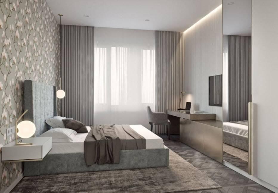 Спальня в стиле «модерн»