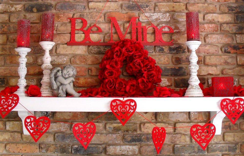 75 оригинальных идей декора на день святого валентина с фото