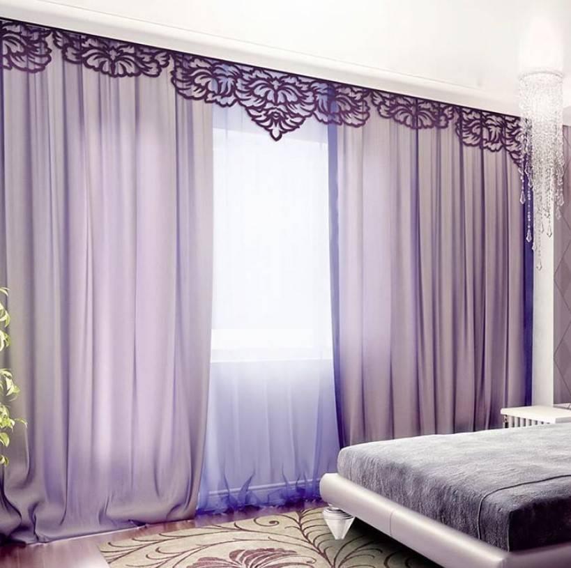 Занавески в спальню (120 фото): обзор новинок дизайна 2020 года