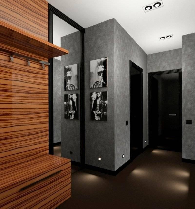 Главные особенности стиля хай-тек в прихожей — от стен до мебели, от потолка до пола