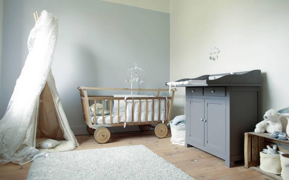 Детская комната для новорожденного: идеи обустройства интерьера, фото