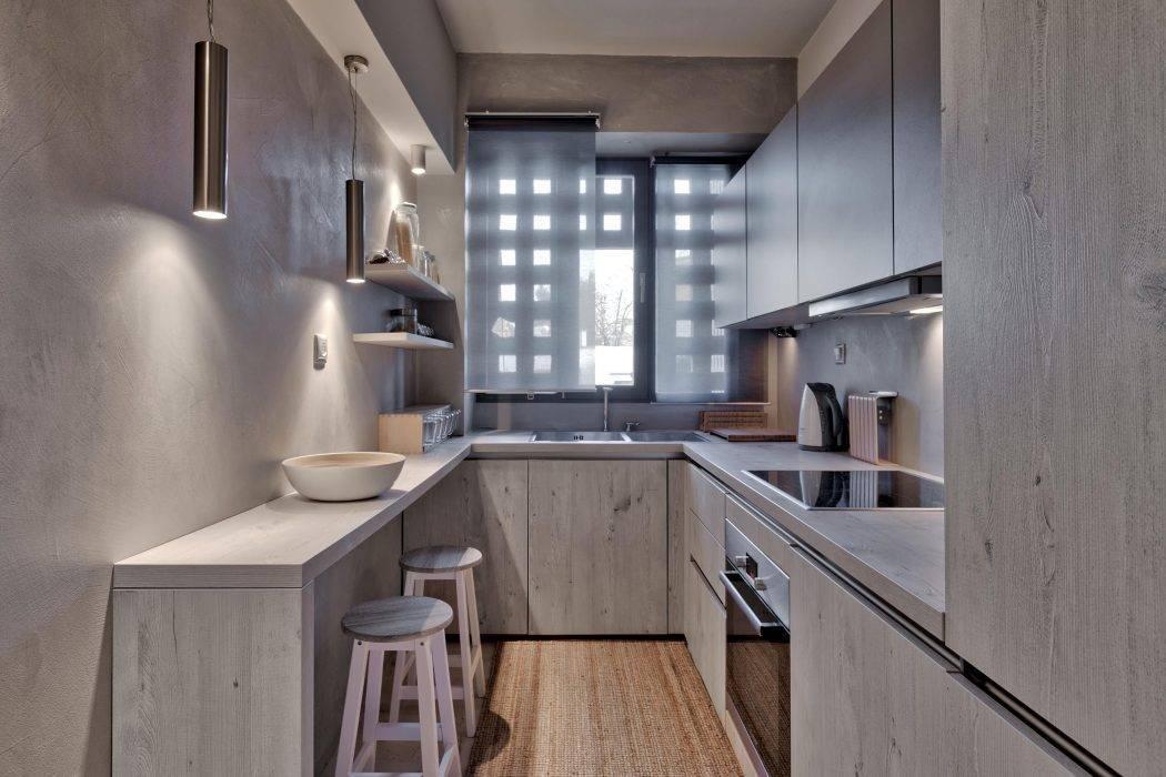 П-образная кухня - 90 фото идей идеальной планировки и дизайна кухни