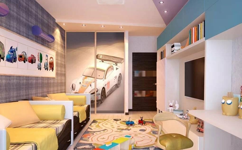 Варианты дизайна детской комнаты площадью 14 кв м