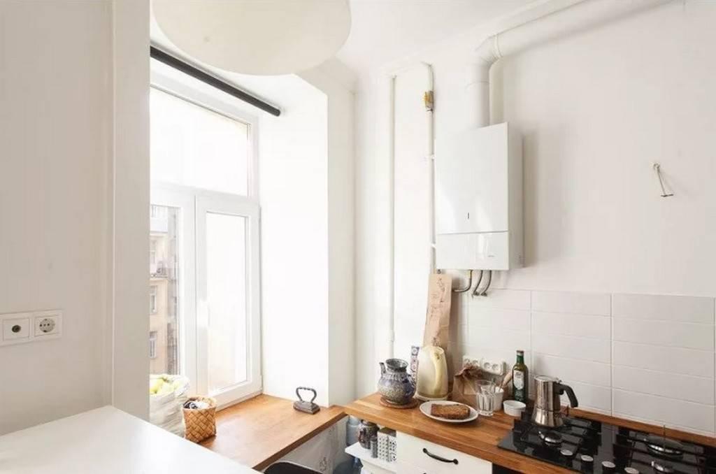Котел на кухне — 115 фото вариантов маскировки и реальные идеи качественной установки