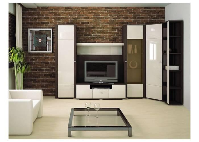 Модульные стенки (49 фото): мебель с компьютерным столом, современные «горки», угловые и прямые варианты в гостиную и в спальню