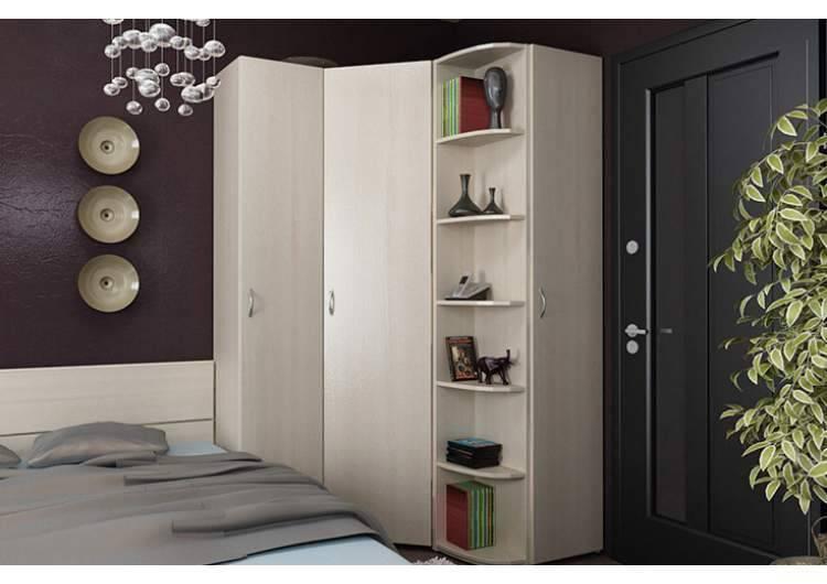Угловой шкаф в спальню - виды, как сделать правильный выбор?